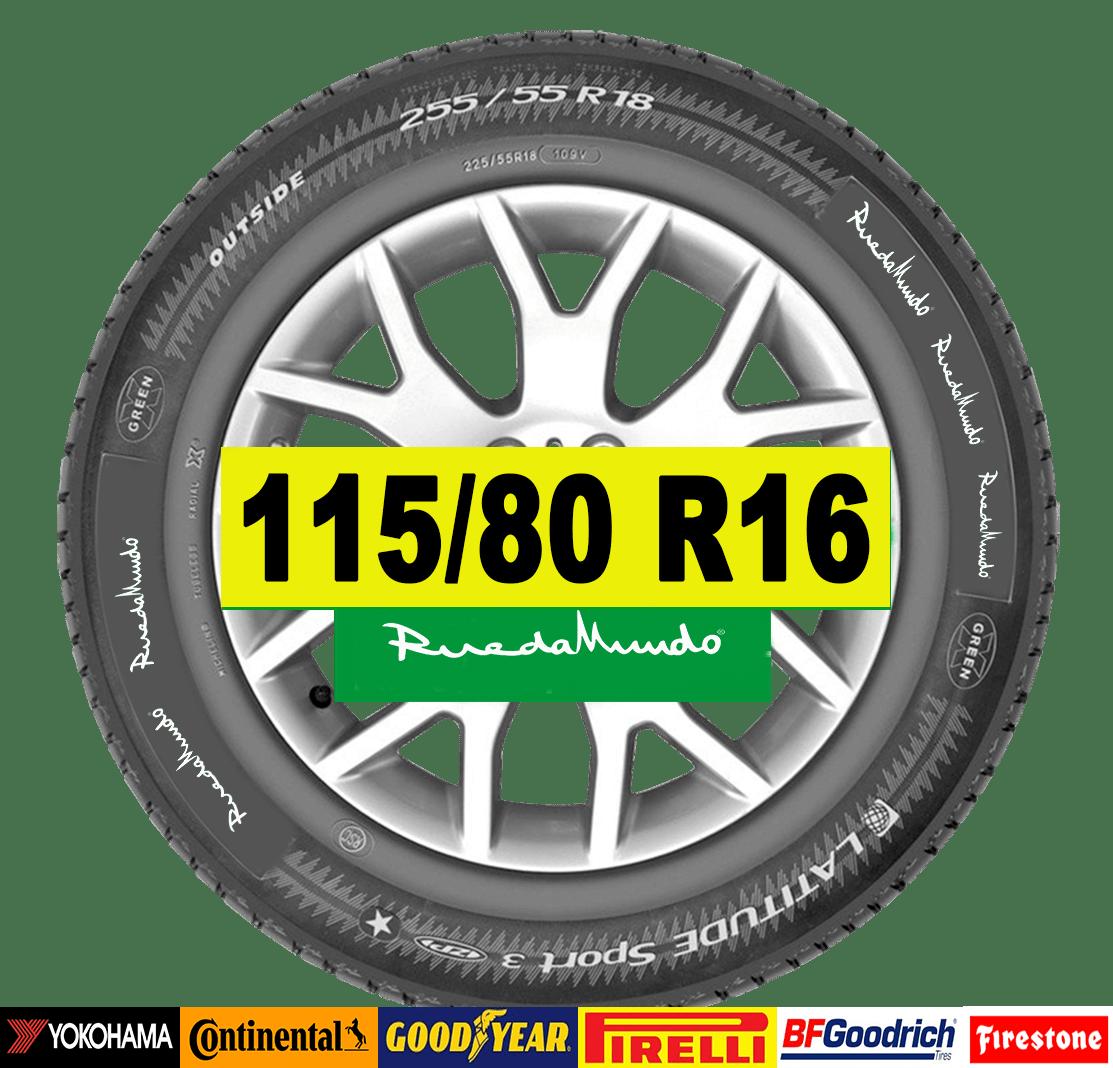 NEUMÁTICO SEMINUEVO 115/80 R16 – SEGUNDA MANO