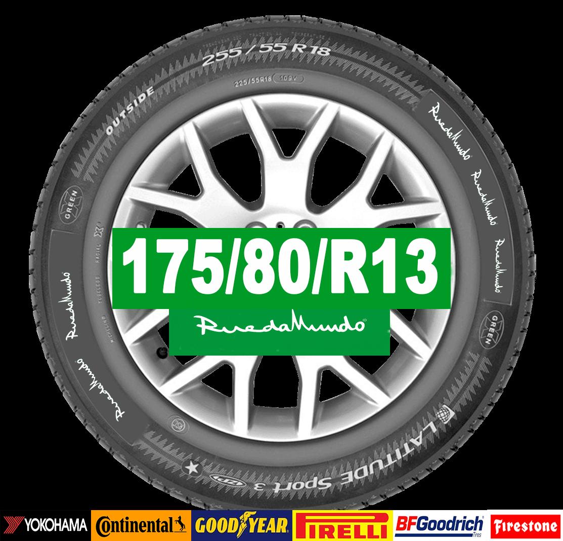 Neumático seminuevo 175/80/R13 – OFERTA