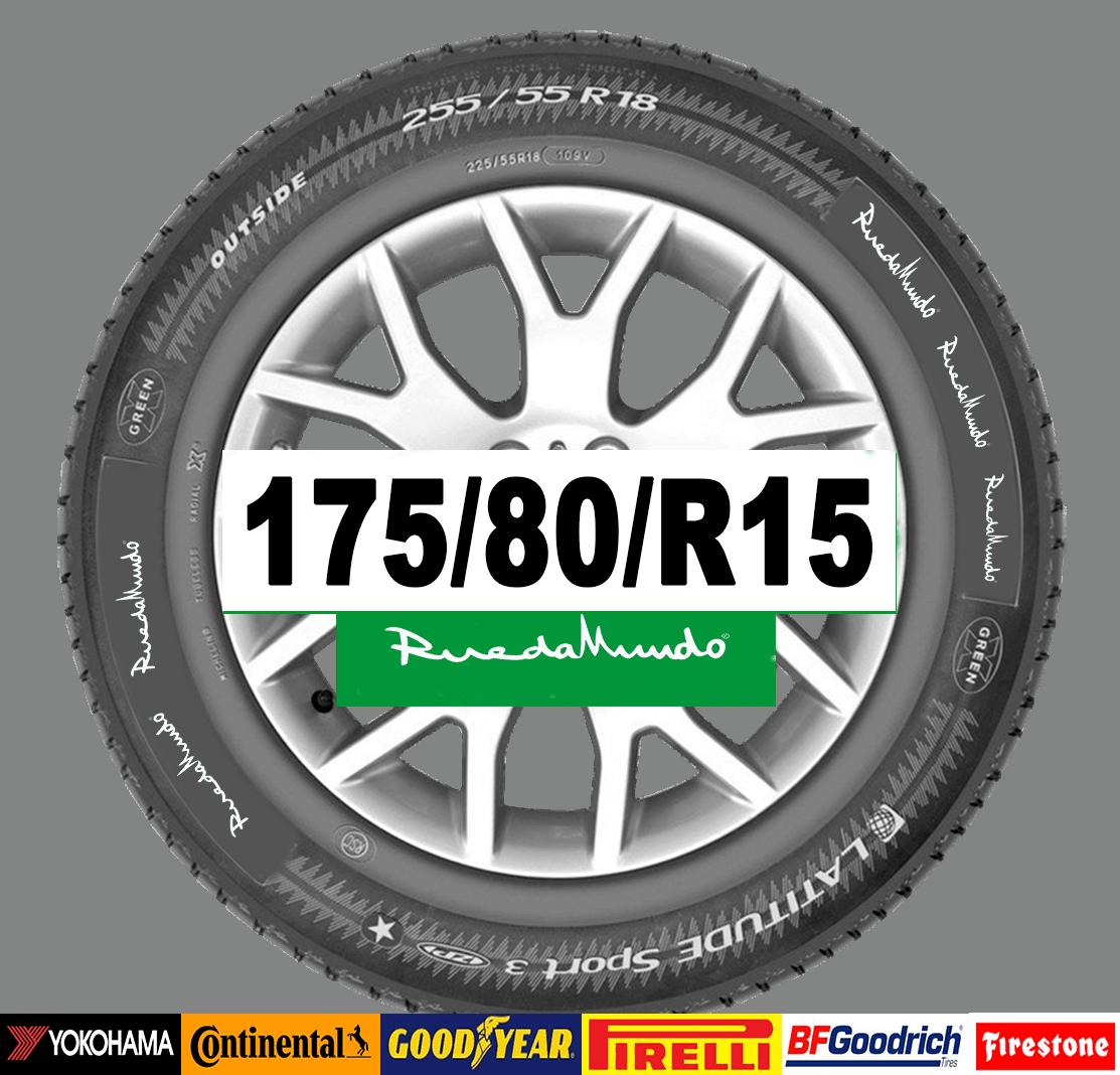 Neumático seminuevo 175/80/R15 – OFERTA