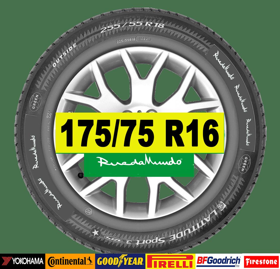 rueda semineuva 175 75 r16
