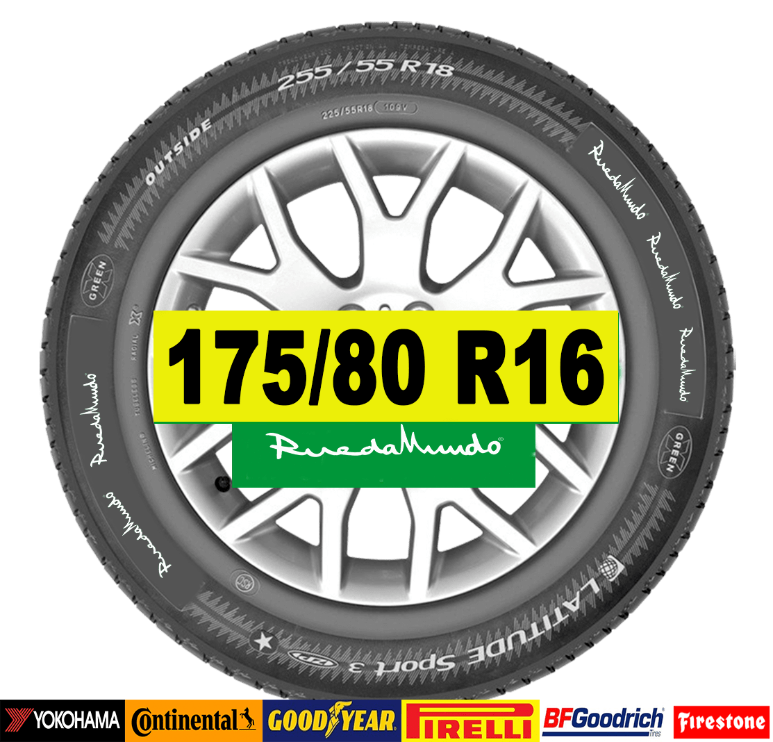 NEUMÁTICO SEMINUEVO 175/80 R16 – SEGUNDA MANO