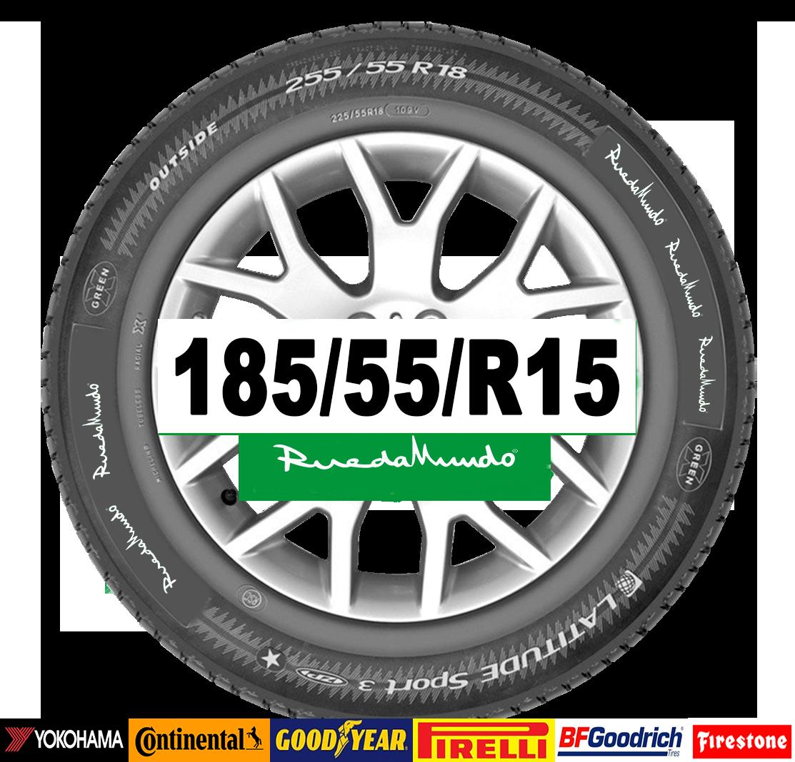 imagen de neumático en 185-55-r15