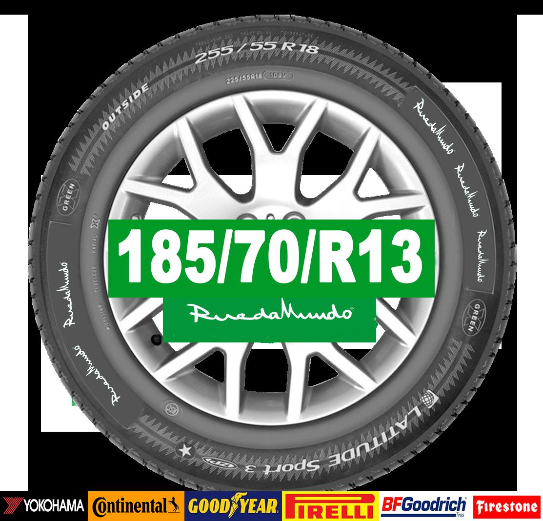 Neumático seminuevo 185/70/R13 – OFERTA