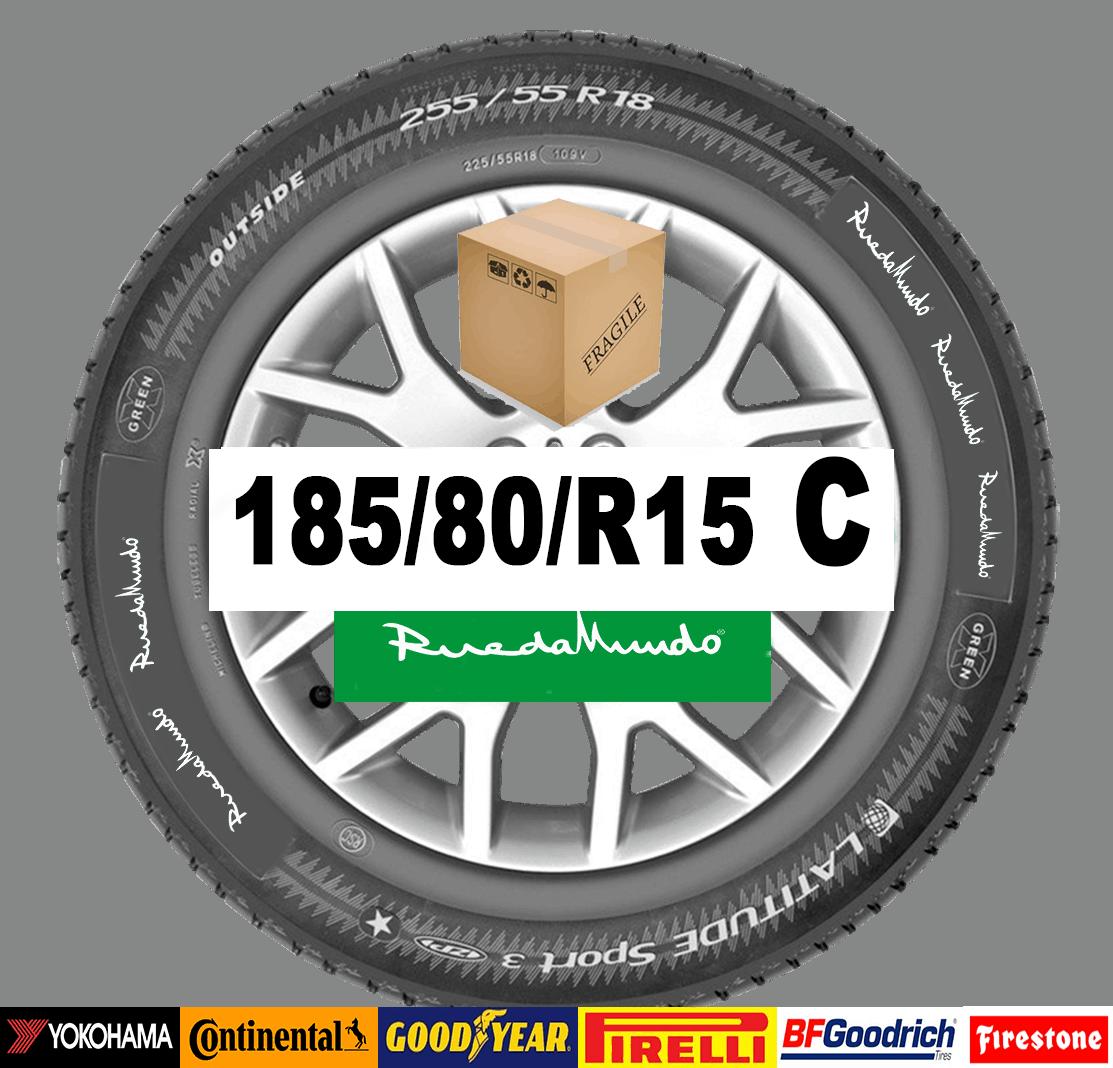 Neumático seminuevo 185/80/R15 C  – OFERTA