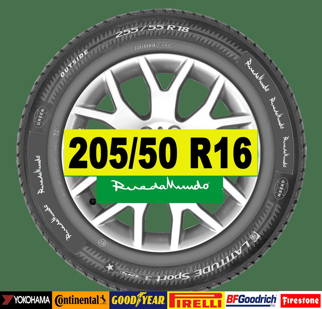 NEUMÁTICO SEMINUEVO 205/50 R16 – SEGUNDA MANO