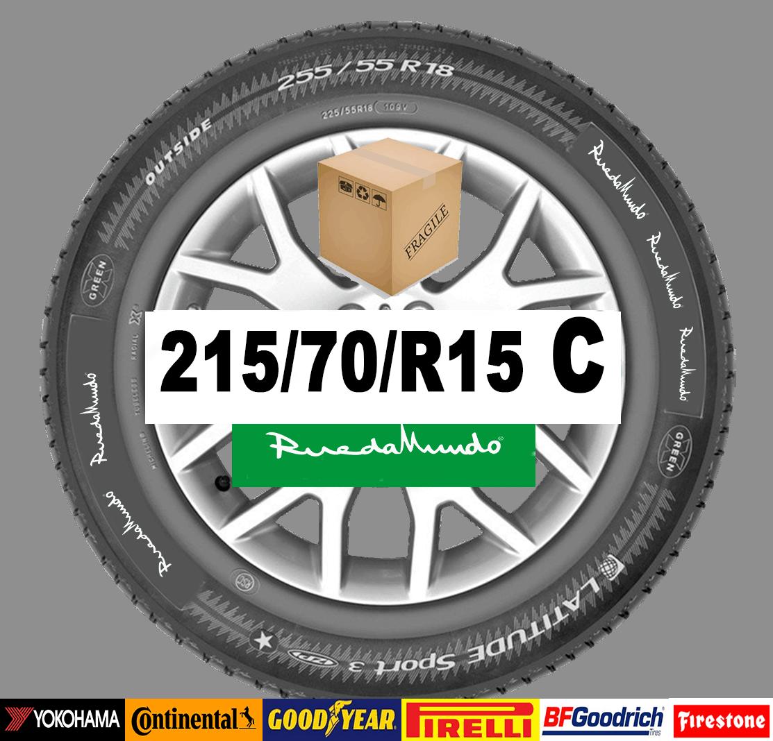 Neumático seminuevo 215/70/R15 C  – OFERTA