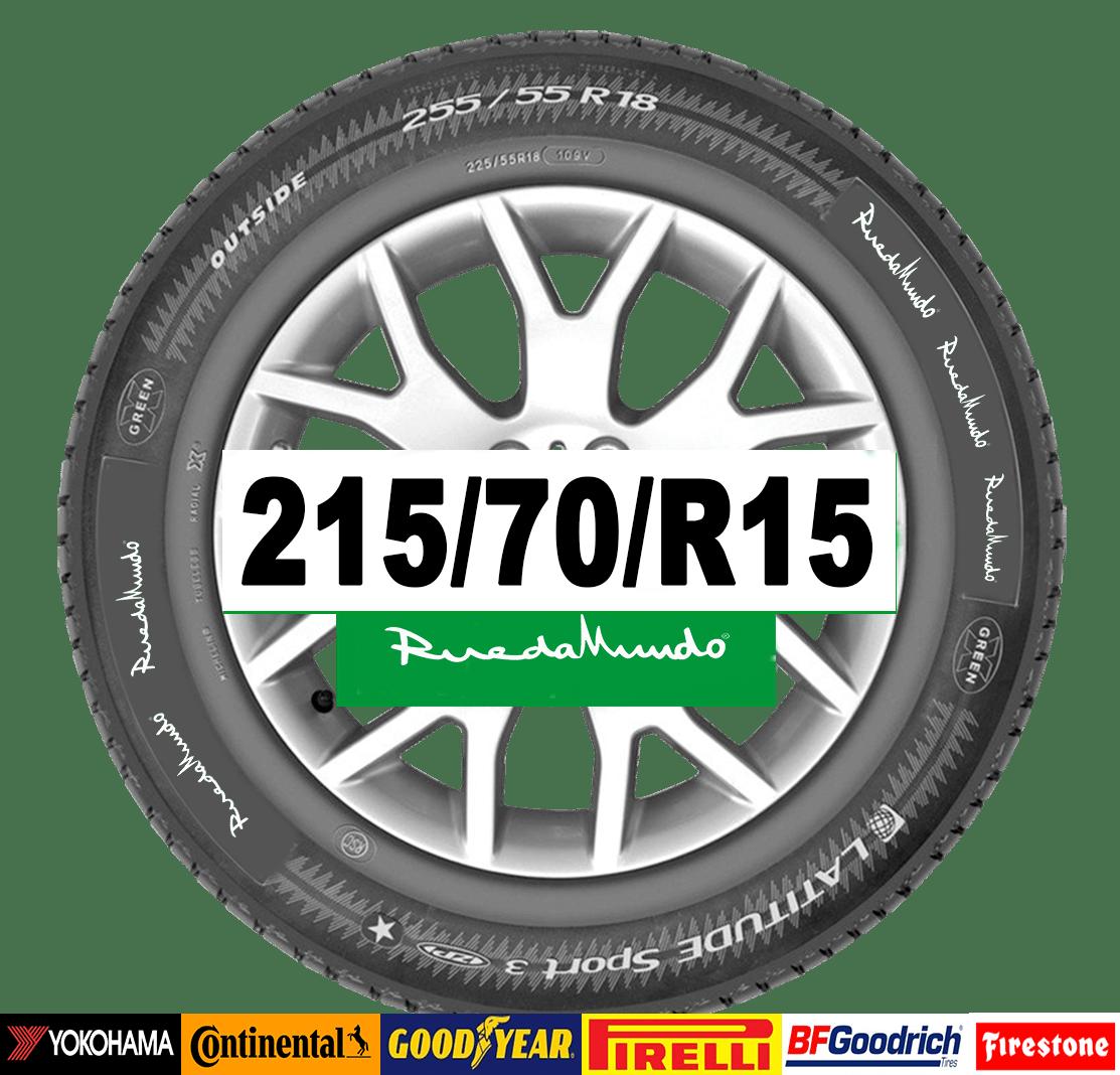 neumático de segunda mano 215-70-r15
