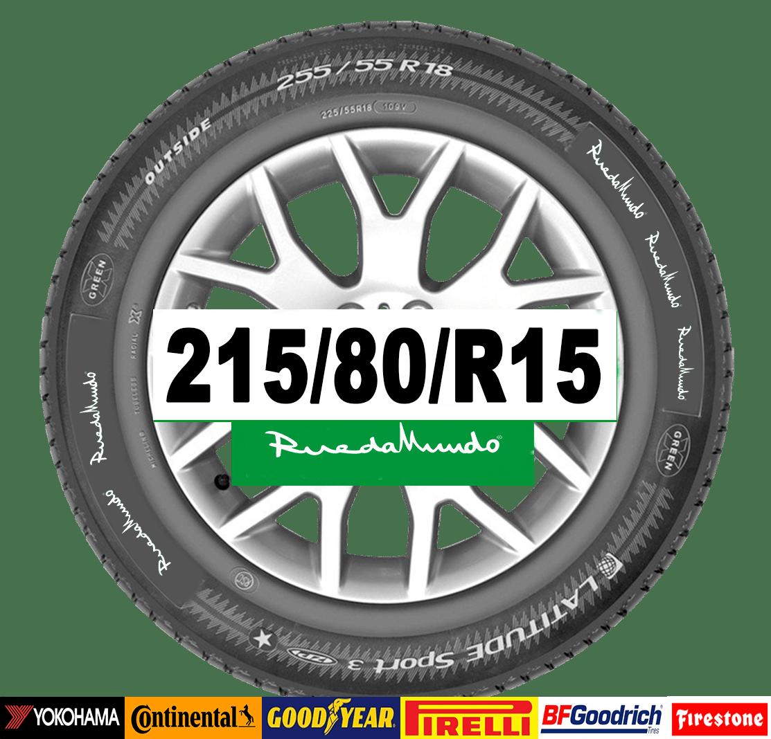 Neumático seminuevo 215/80/R15 – OFERTA