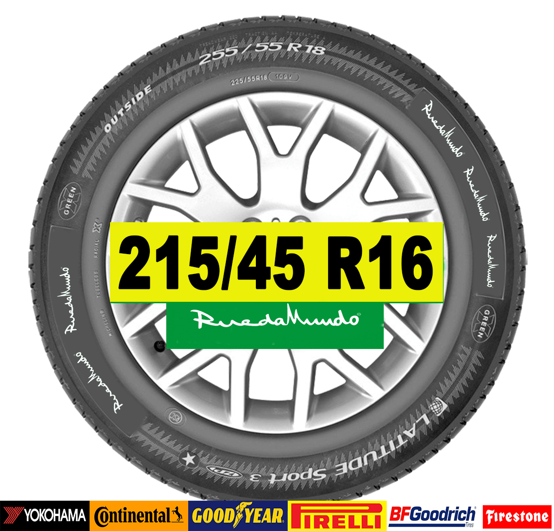 NEUMÁTICO SEMINUEVO 215/45 R16 – SEGUNDA MANO