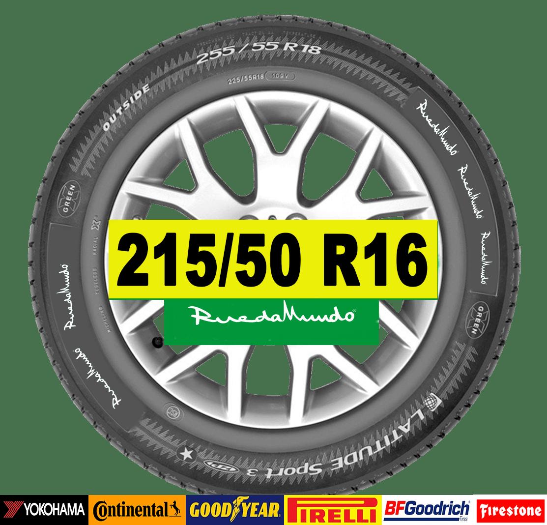 NEUMÁTICO SEMINUEVO 215/50 R16 – SEGUNDA MANO