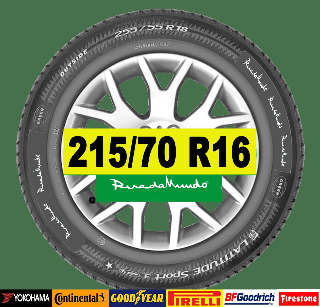 NEUMÁTICO SEMINUEVO 215/70 R16 – SEGUNDA MANO