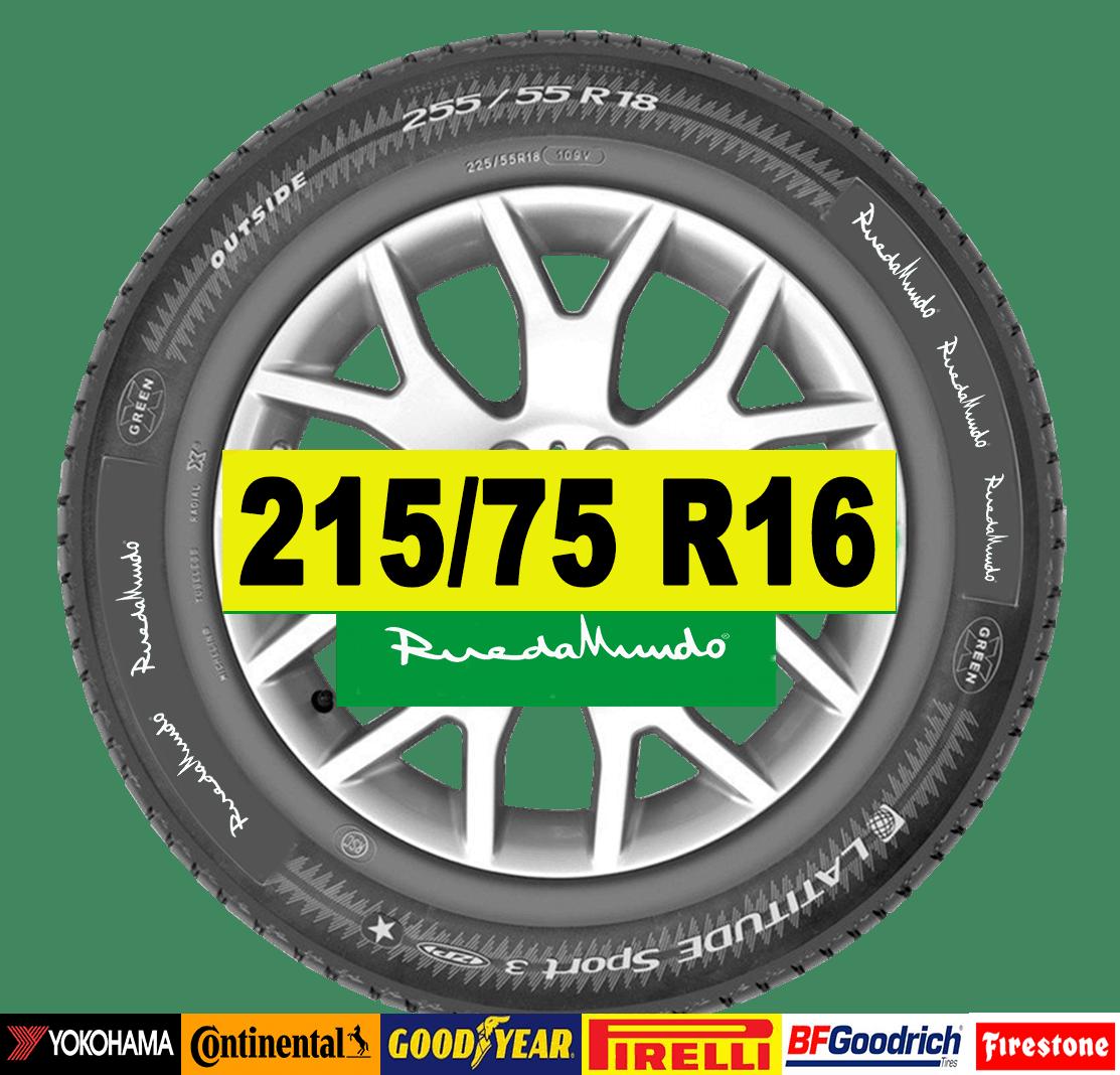 NEUMÁTICO SEMINUEVO 215/75 R16 – SEGUNDA MANO