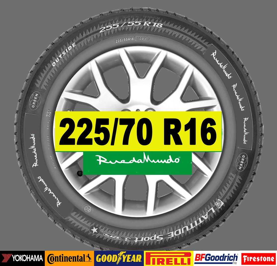 NEUMÁTICO SEMINUEVO 225/70 R16 – SEGUNDA MANO