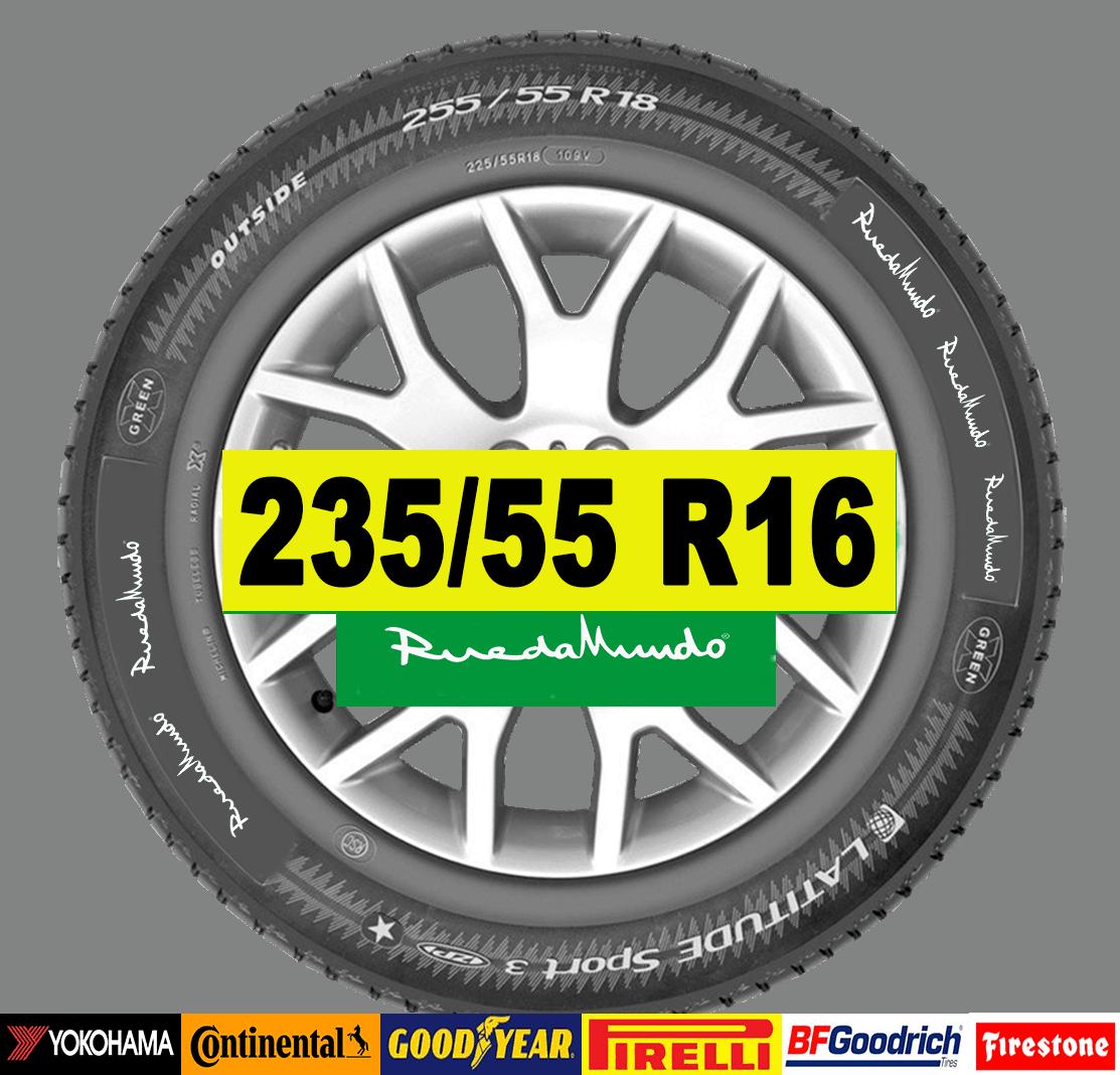 NEUMÁTICO SEMINUEVO 235/55 R16 – SEGUNDA MANO
