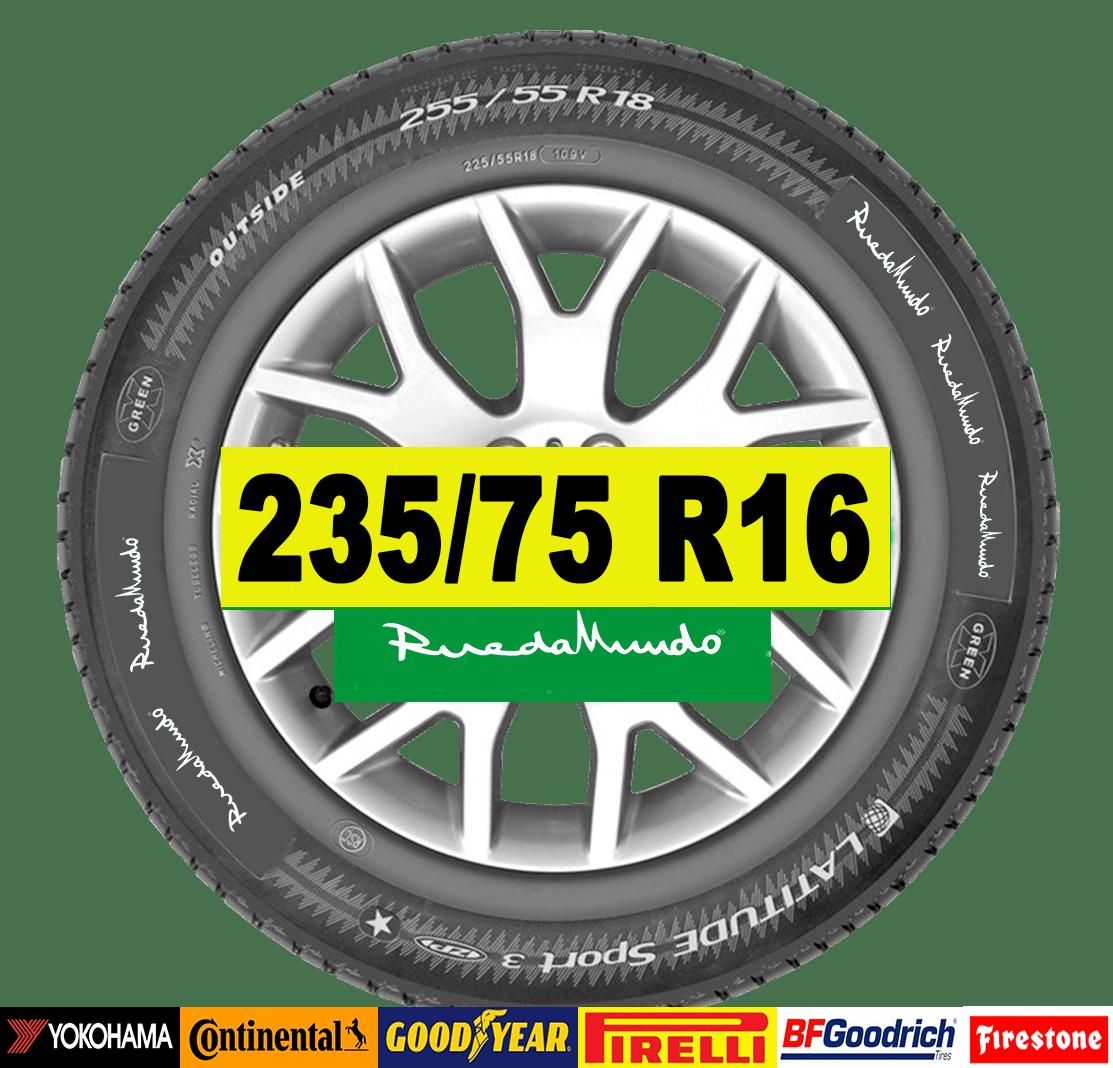 NEUMÁTICO SEMINUEVO 235/75 R16 – SEGUNDA MANO