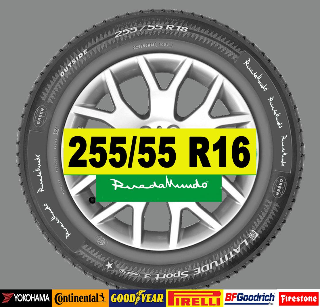 NEUMÁTICO SEMINUEVO 255/55 R16 – SEGUNDA MANO